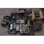 A large quantity of military radios and radio equipment including numerous military issue wireless