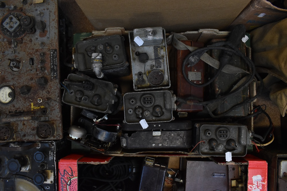 A large quantity of military radios and radio equipment including numerous military issue wireless - Image 6 of 12