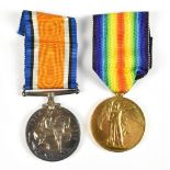 A World War I War and Victory Medal duo awarded to 30967 Cpl. C.F.Hudson R.A.F.Additional