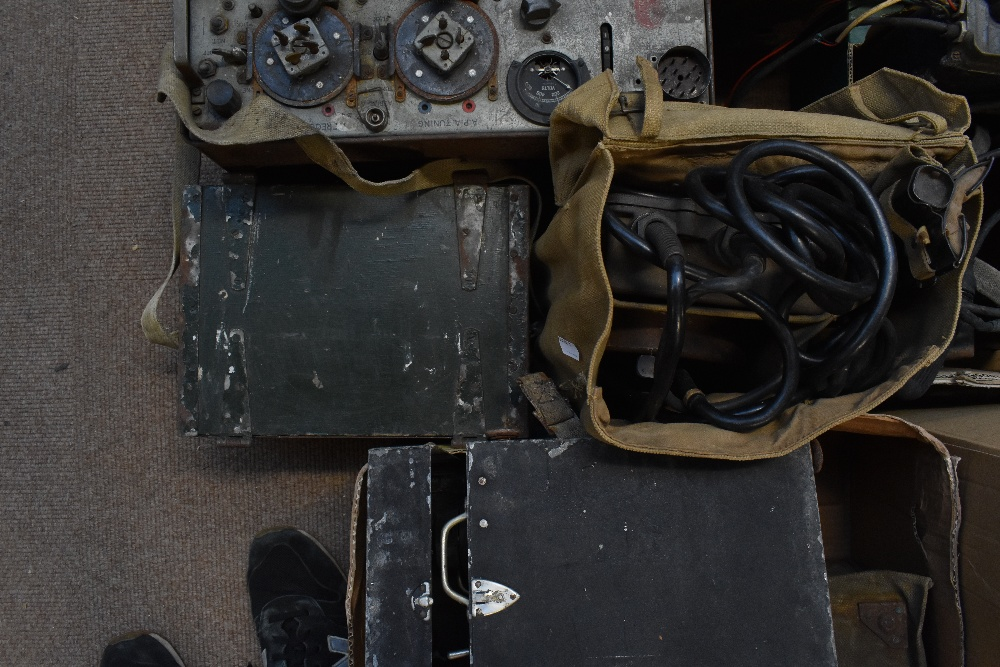 A large quantity of military radios and radio equipment including numerous military issue wireless - Image 10 of 12