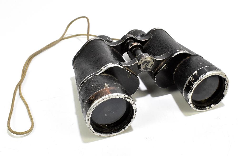 CARL ZEISS; a pair of WWII period Third Reich binoculars, no.16585.Additional InformationLarge areas