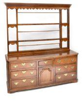 An 18th century dresser,