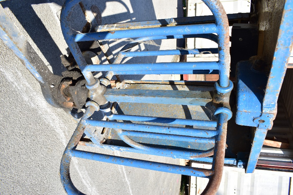 MACCLESFIELD TOWN FOOTBALL CLUB INTEREST; two early 20th century cast iron turnstiles by Bailey - Image 5 of 15