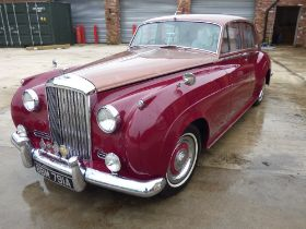 BENTLEY; a 1958 S1 saloon motor car BBM 791A, chassis no.B428FA, engine no.BF214. The car now