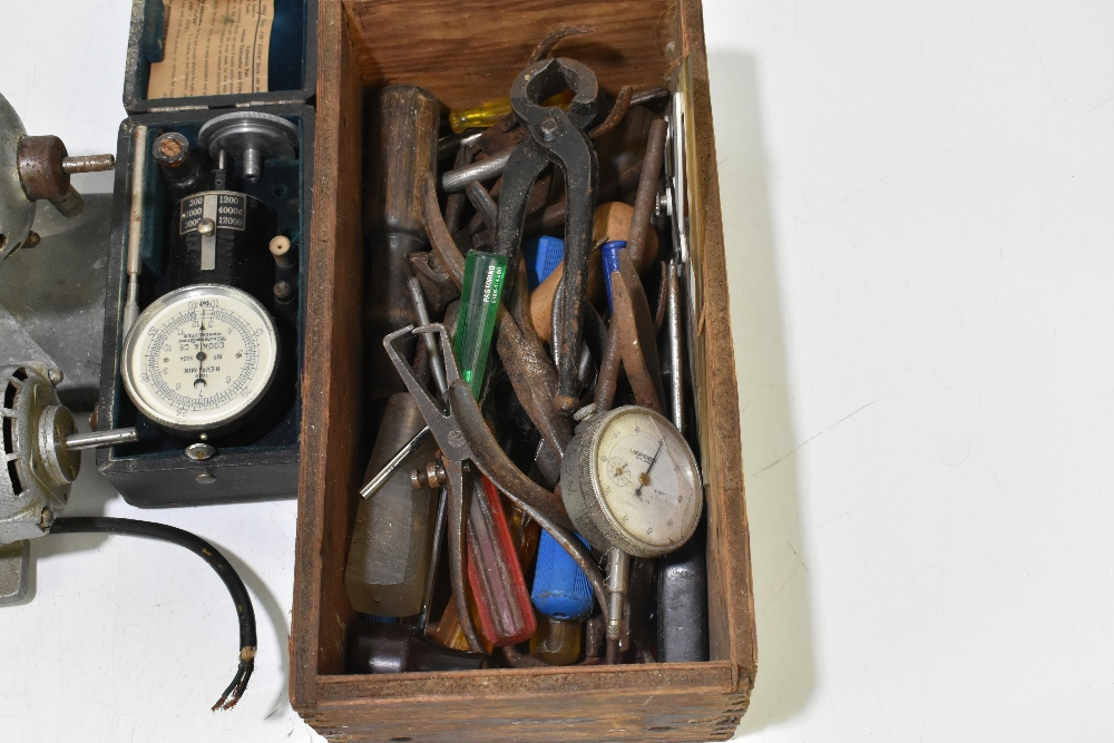 A group of vintage tools including a Record plane, Universal motor, a Cook & Co of Manchester - Image 2 of 8