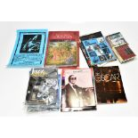 JAZZ MUSIC INTEREST; a collection of jazz related ephemera including a signed George Shearing 'Sheer