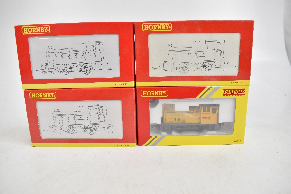 HORNBY; four boxed diesel shunter locomotives comprising R2783 BR 0-4-0 Class 06, R2188 BR 0-4-0 - Image 2 of 11