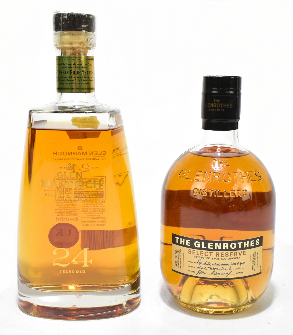 WHISKY; two single bottles comprising The Glenrothes Select Reserve Speyside single malt Scotch