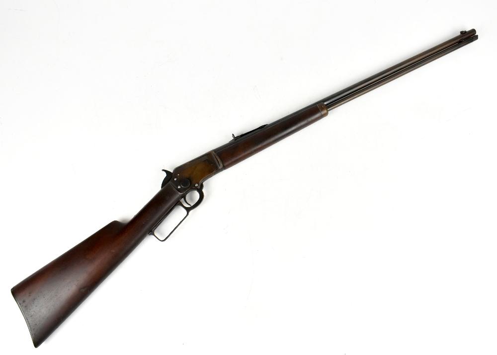 MARLIN; a Model 97 .22 RF underlever rifle, SN:424676. Provenance: The Captain Allan Marshall