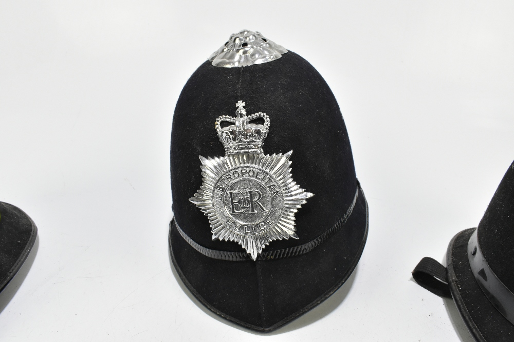 Three Police helmets with Staybrite badges and mounts, the first for Greater Manchester Police by - Image 3 of 9