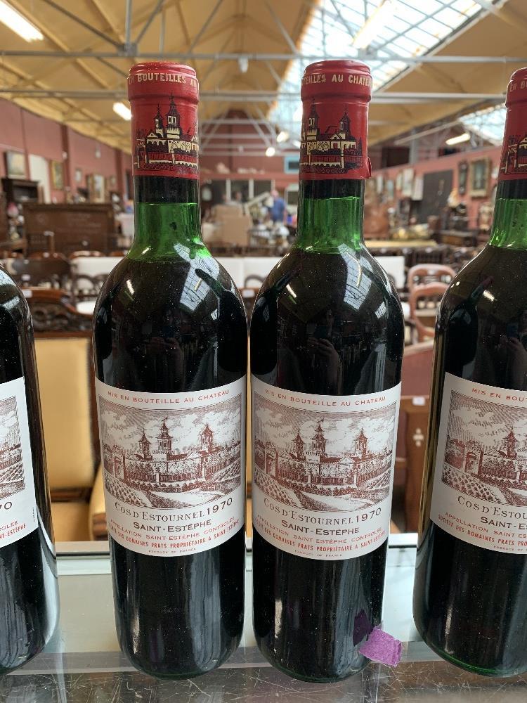 FRANCE; two cases of twelve 1970 Cos D'Estournel Saint-Estèphe bottles of red wine, 75cl (24). - Image 14 of 16