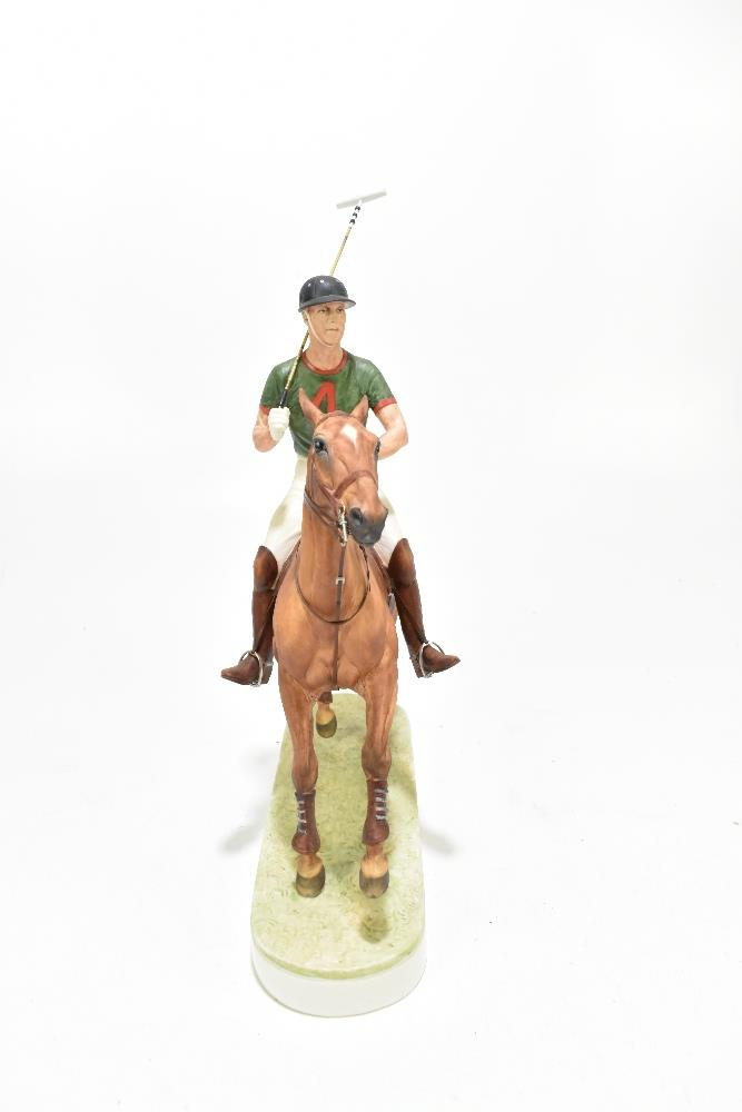 *** WITHDRAWN *** ROYAL WORCESTER; a limited edition figure, 'H.R.H. The Duke of Edinburgh', the - Image 4 of 7