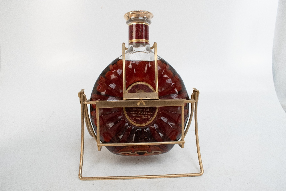 COGNAC; a Remy Martin XO Special three litre bottle, on gilt Remy Martin swivel stand complete - Image 4 of 8