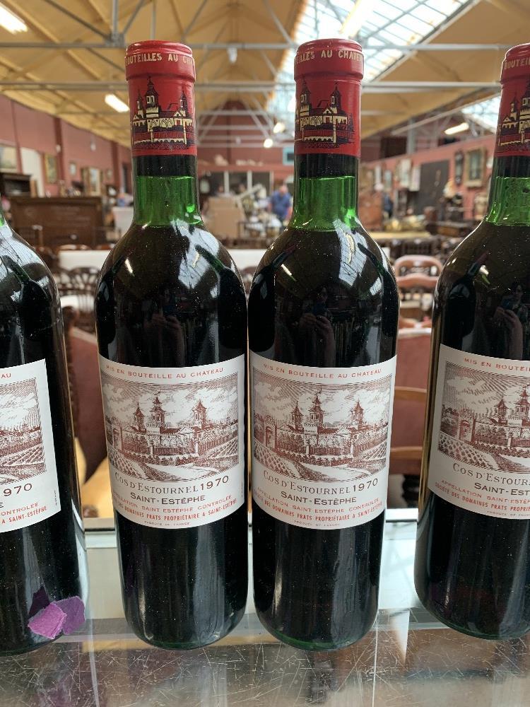 FRANCE; two cases of twelve 1970 Cos D'Estournel Saint-Estèphe bottles of red wine, 75cl (24). - Image 15 of 16
