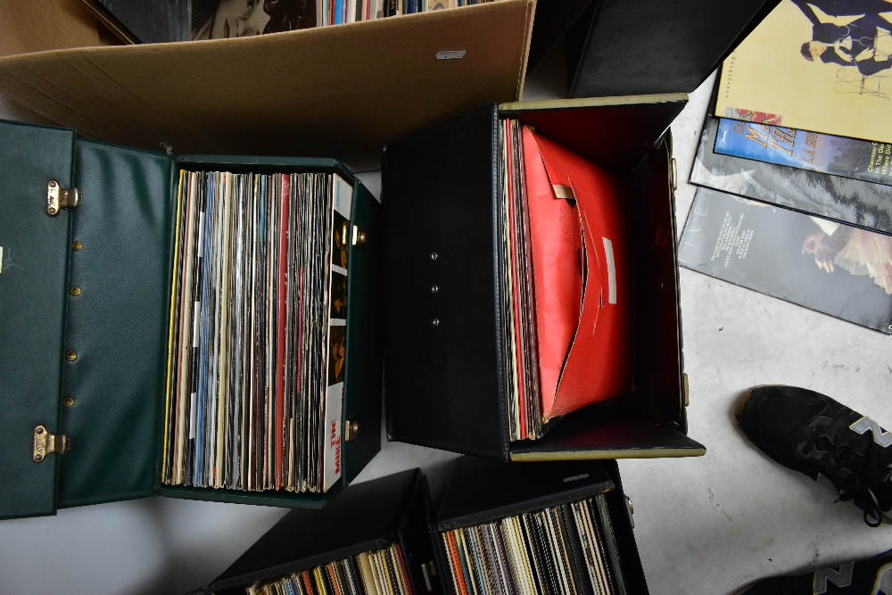 An extensive collection of LP Vinyl records and singles, to include Elton John, Jimi Hendrix, - Image 3 of 6