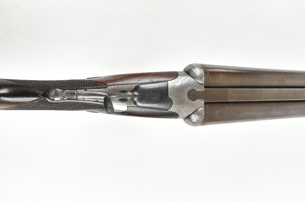 HOLLAND & HOLLAND; a Hollands Patent No.134 12 bore side-by-side double trigger boxlock non- - Image 10 of 13