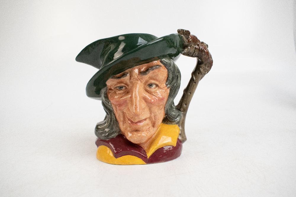 ROYAL DOULTON; seven characters from literature themed character jugs, comprising D6529 'Merlin', - Image 2 of 8