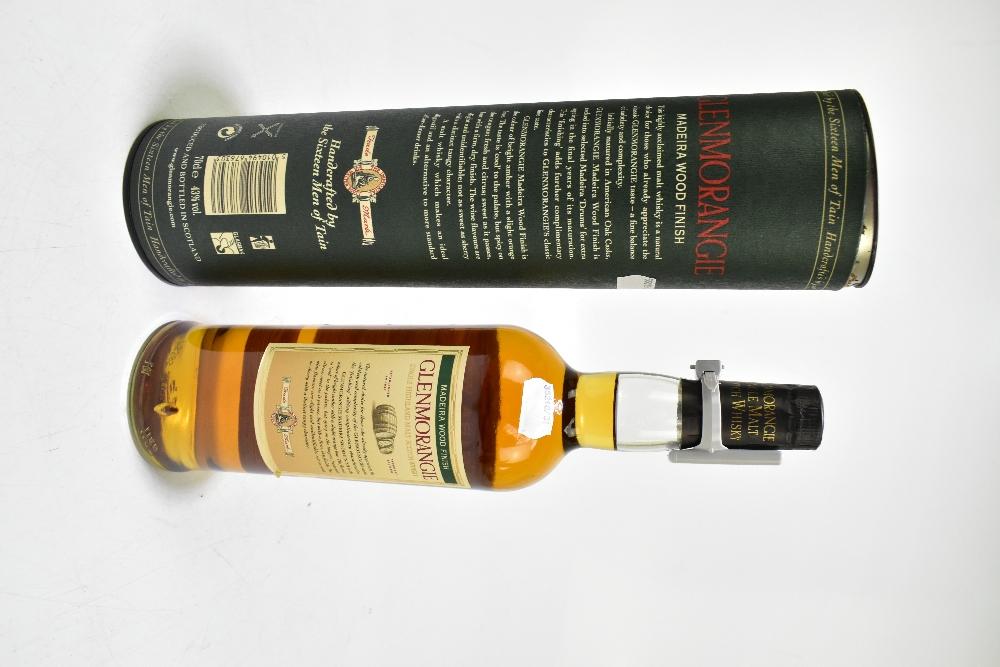 WHISKY; a single bottle of Glenmorangie Madeira Wood Finish single Highland malt Scotch whisky, - Image 2 of 2
