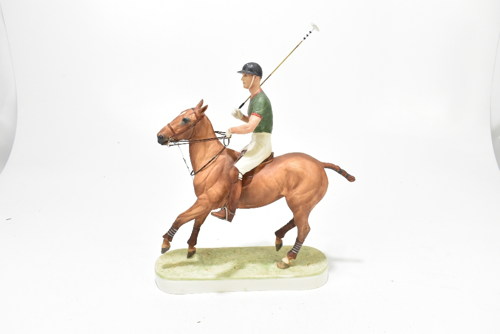 *** WITHDRAWN *** ROYAL WORCESTER; a limited edition figure, 'H.R.H. The Duke of Edinburgh', the - Image 3 of 7