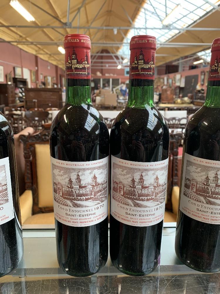 FRANCE; two cases of twelve 1970 Cos D'Estournel Saint-Estèphe bottles of red wine, 75cl (24). - Image 12 of 16