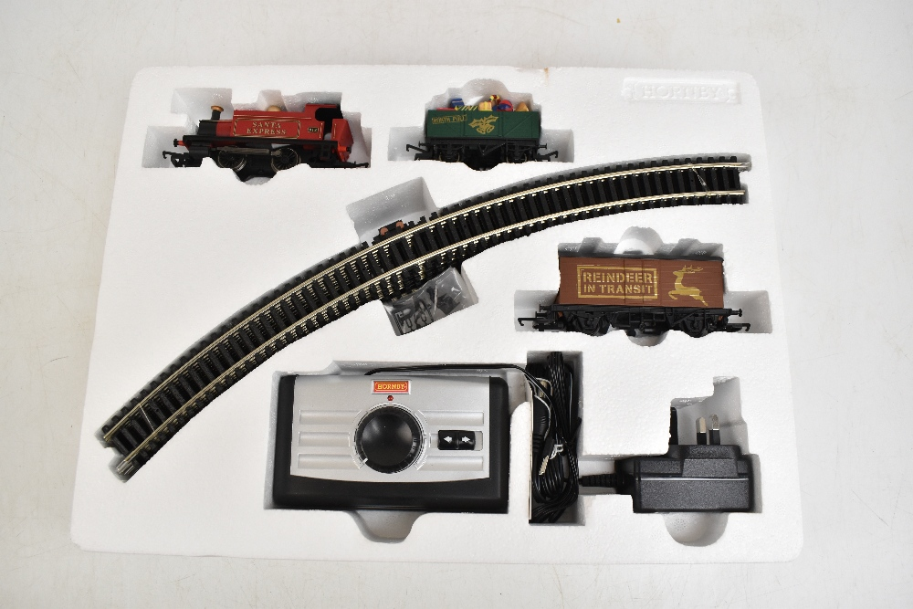 HORNBY; a boxed R1179 Santa's Express OO gauge train set.Additional InformationSome light general - Image 2 of 8