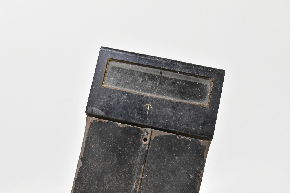 A WWI era 'box' trench periscope with two arrow marks, length 57cm. Provenance: The Captain Allan - Image 2 of 5