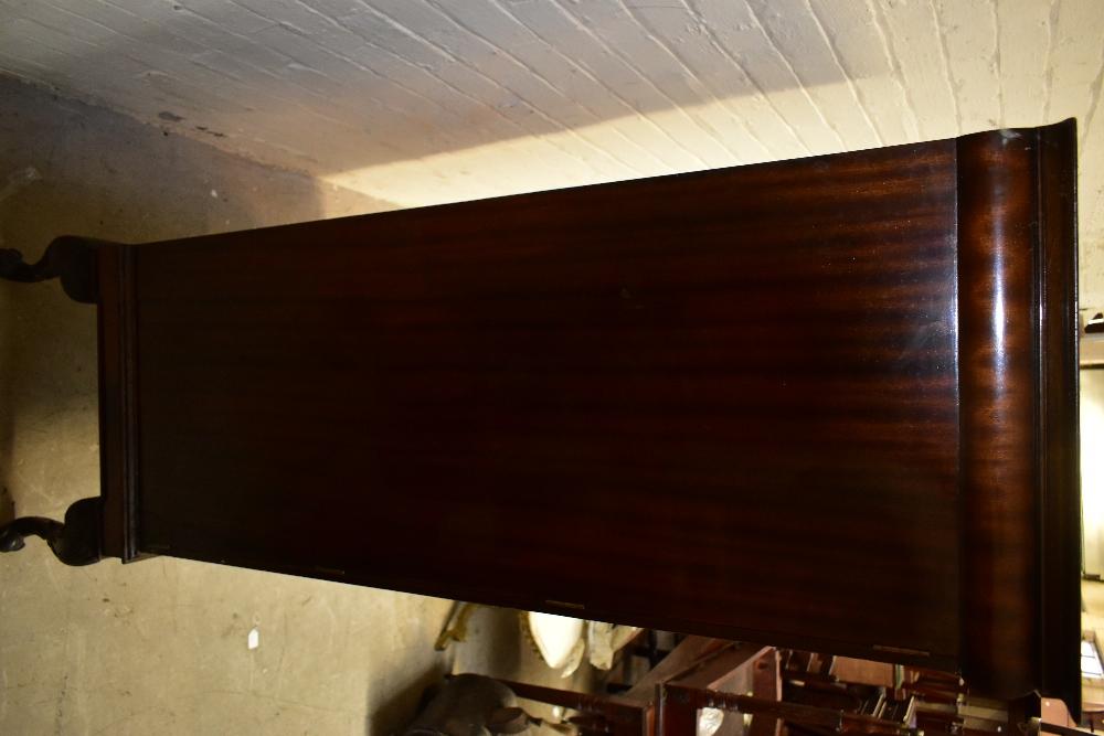 A 1950s mahogany veneered twin door silver cabinet, the twin panelled doors enclosing seven - Image 6 of 6