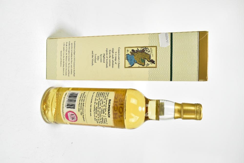 WHISKY; a single bottle of Balmenach 18 years old Speyside single malt Scotch whisky, distilled 1989 - Image 2 of 2