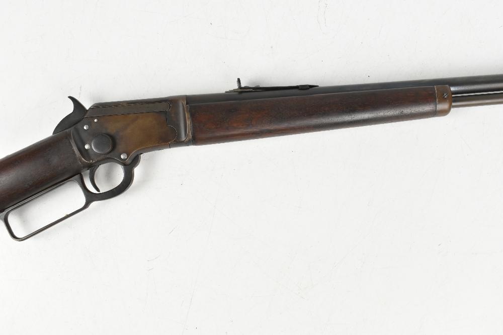 MARLIN; a Model 97 .22 RF underlever rifle, SN:424676. Provenance: The Captain Allan Marshall - Image 3 of 12