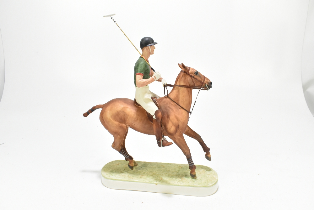 *** WITHDRAWN *** ROYAL WORCESTER; a limited edition figure, 'H.R.H. The Duke of Edinburgh', the - Image 5 of 7