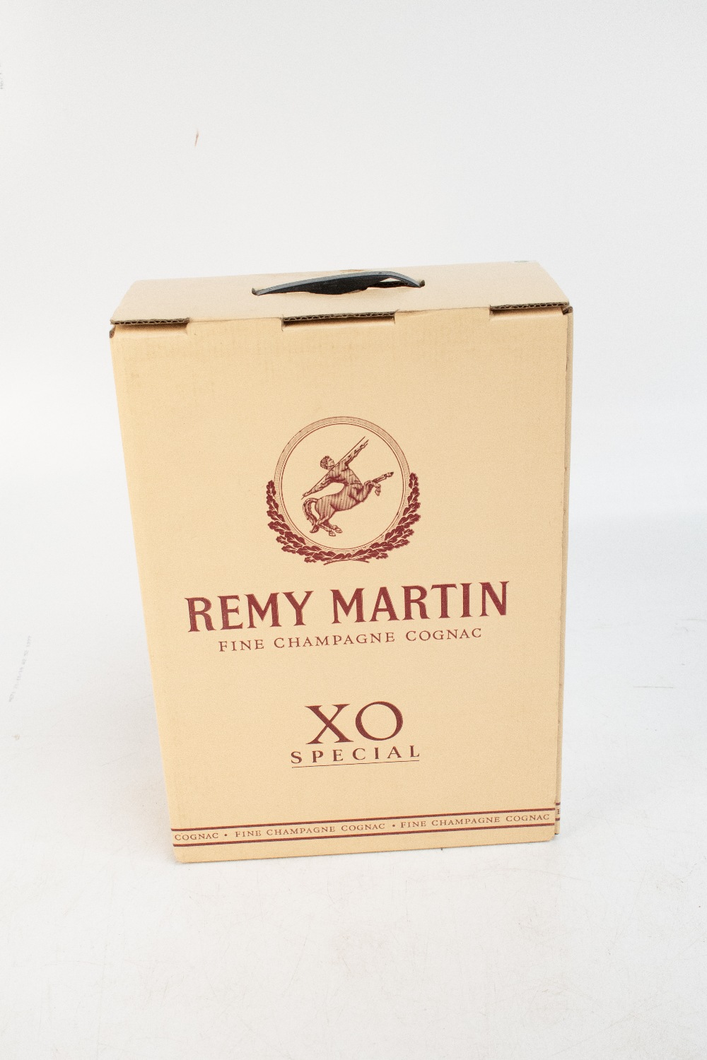 COGNAC; a Remy Martin XO Special three litre bottle, on gilt Remy Martin swivel stand complete - Image 5 of 8