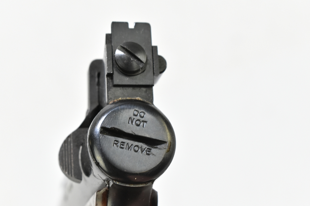 A boxed Webley Premier .22 air pistol with bakelite grips, length 21cm, SN:965. Provenance: The - Image 6 of 6