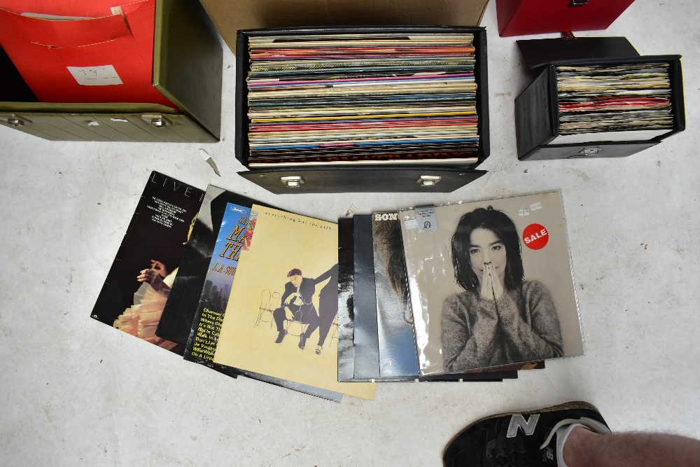 An extensive collection of LP Vinyl records and singles, to include Elton John, Jimi Hendrix, - Image 6 of 6