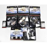 CORGI; four boxed limited edition Aviation Archive models comprising AA35215 Curtis P-40E