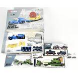 CORGI; three boxed Heavy Haulage models comprising 18001 Econofreight Heavy Transport Ltd, limited