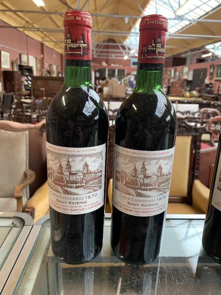 FRANCE; two cases of twelve 1970 Cos D'Estournel Saint-Estèphe bottles of red wine, 75cl (24). - Image 5 of 16