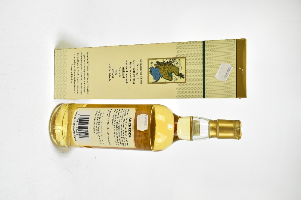 WHISKY; a single bottle of Auchroisk Speyside single malt Scotch whisky, distilled 1993 and - Image 2 of 2