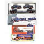 CORGI; three boxed models comprising Heavy Haulage 17701 Pickfords 2 Scammell Constructors [...],