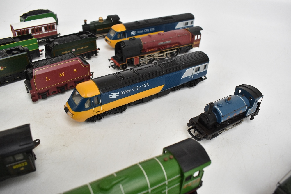 HORNBY; a group of loose model railway comprising sixteen various sized locomotives including - Image 6 of 10