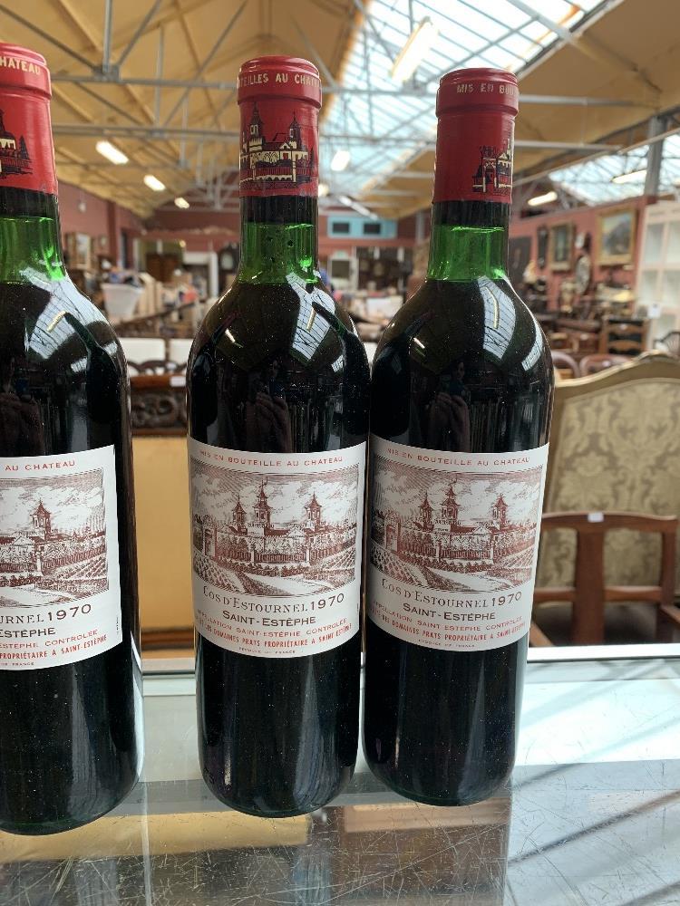 FRANCE; two cases of twelve 1970 Cos D'Estournel Saint-Estèphe bottles of red wine, 75cl (24). - Image 16 of 16