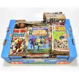 MARVEL; approximately two hundred and seventy-five late 1960s and later comic books including the