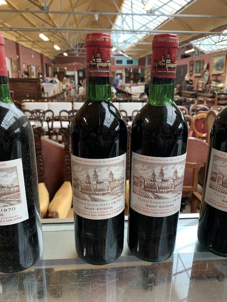 FRANCE; two cases of twelve 1970 Cos D'Estournel Saint-Estèphe bottles of red wine, 75cl (24). - Image 8 of 16