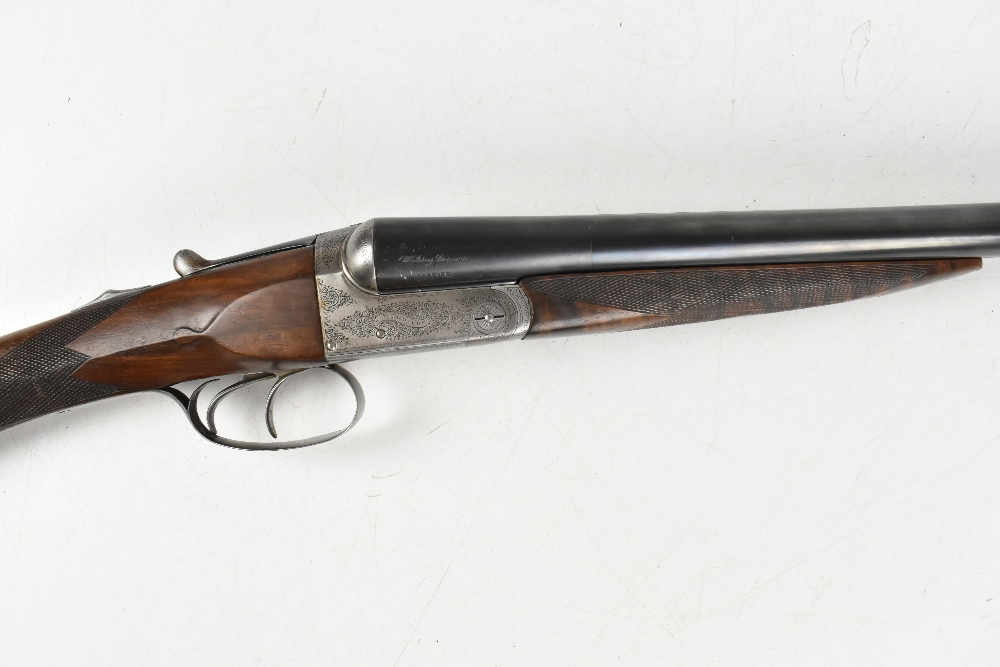 """W. RICHARDS; a 12 bore side-by-side boxlock double trigger non-ejector shotgun, the 28"""" sleeved - Image 3 of 15"""