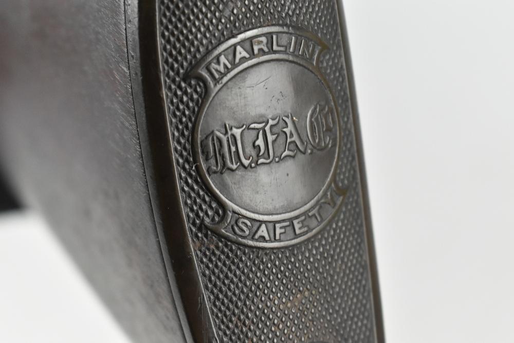 MARLIN; a Model 97 .22 RF underlever rifle, SN:424676. Provenance: The Captain Allan Marshall - Image 11 of 12