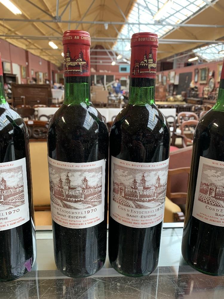 FRANCE; two cases of twelve 1970 Cos D'Estournel Saint-Estèphe bottles of red wine, 75cl (24). - Image 13 of 16
