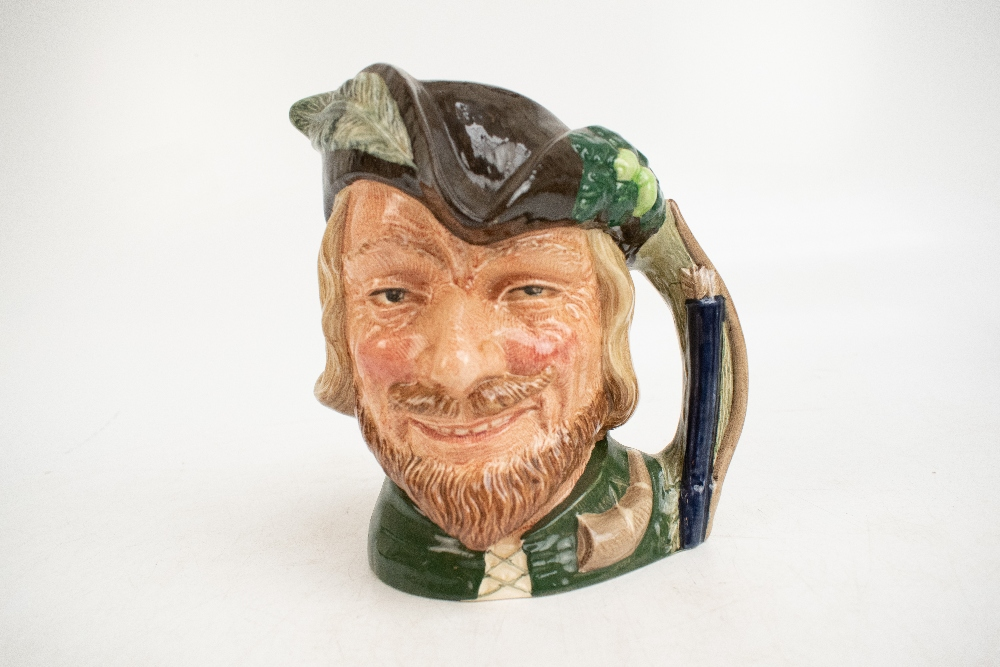 ROYAL DOULTON; seven characters from literature themed character jugs, comprising D6529 'Merlin', - Image 5 of 8