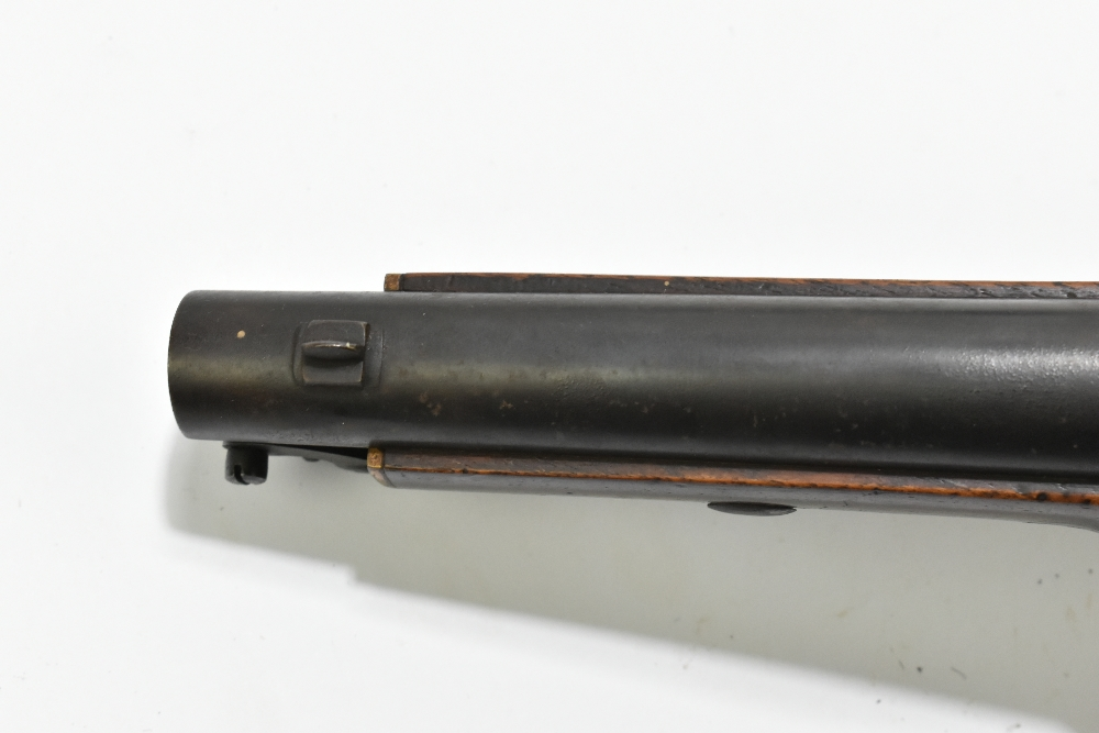 """A 19th century East India Government percussion cap large bore pistol with 8"""" barrel, the lock - Image 10 of 10"""