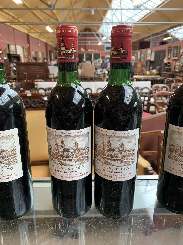 FRANCE; two cases of twelve 1970 Cos D'Estournel Saint-Estèphe bottles of red wine, 75cl (24). - Image 7 of 16