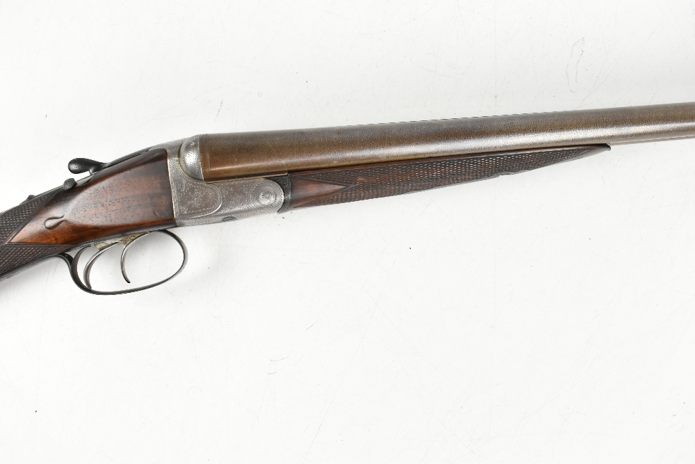 HOLLAND & HOLLAND; a Hollands Patent No.134 12 bore side-by-side double trigger boxlock non- - Image 3 of 13