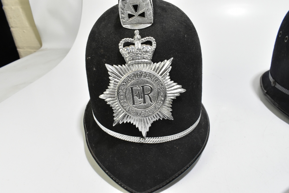 Three Police helmets with Staybrite badges and mounts, the first for Greater Manchester Police by - Image 2 of 9